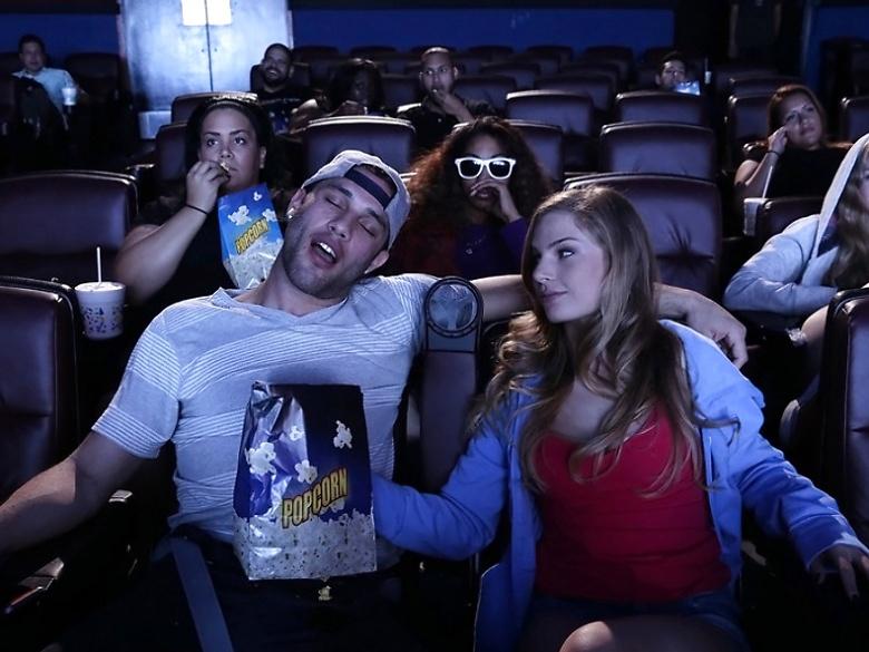 Fuck movie theater